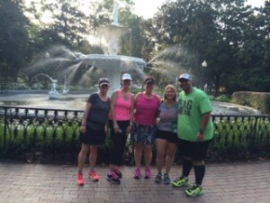 Our FitBloggin running group!