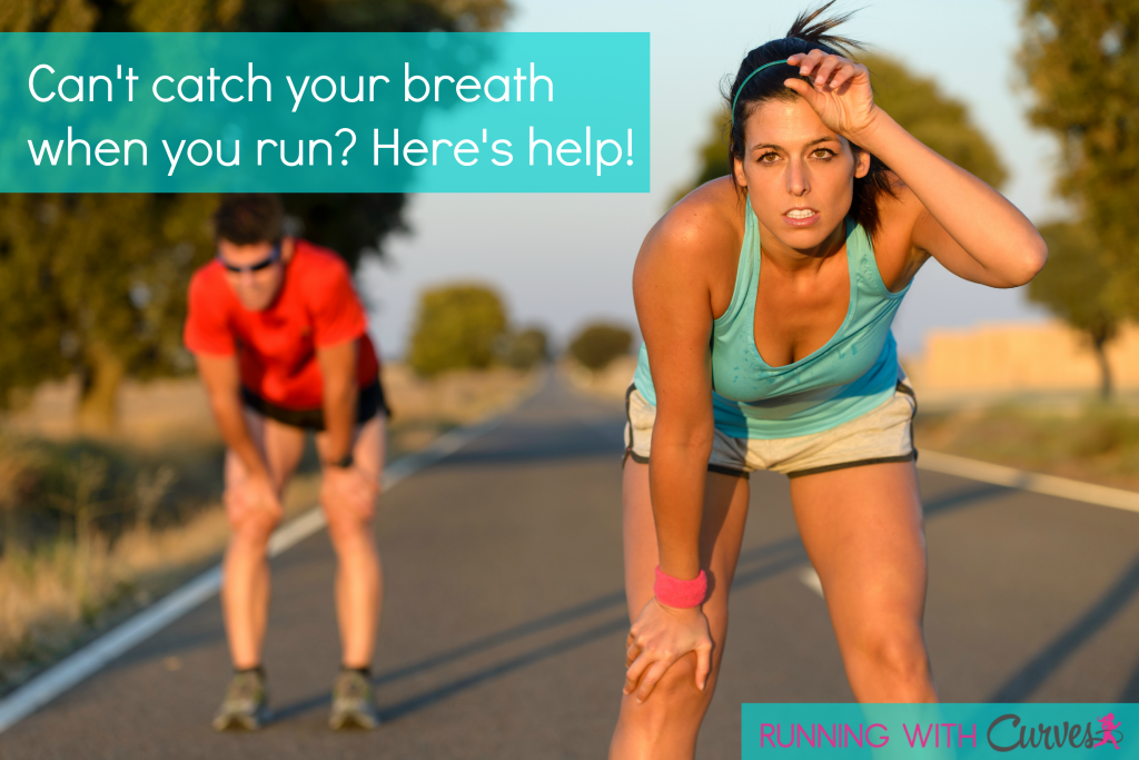 can't breath when running