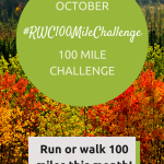 100 Mile Challenge for October