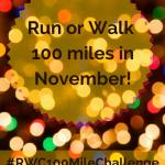 100 Mile Running Challenge