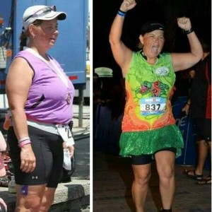 January Rockstar Runner: Laura Backus of A Fat Girl's Ironman Journey