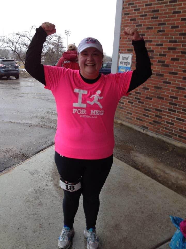 Running miles for Meg
