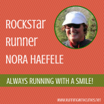 Rockstar Runner Nora Haefele is a Half Fanatic!