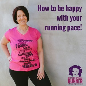 How to be happy as a slow runner