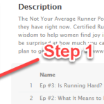 Announcing The Not Your Average Runner Podcast!