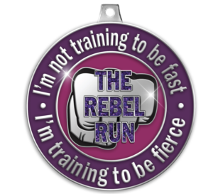 Rebel Run Medal