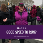 What Is a Good Speed to Run?